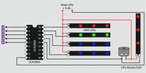 Схема подключения подсветки от разработчика