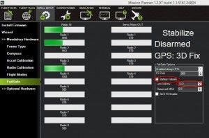 FailSafe по разряду аккумулятора