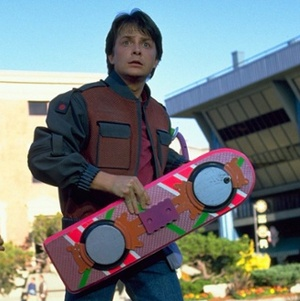 LINDSEY WHITNEY BARRY, MICHAEL J. FOX & THEO SCHWARTZ  Character(s): Hoverboard Girl #2, Marty McFly, Hoverboard Girl #1  Film 'BACK TO THE FUTURE PART II' (1989)  Directed By ROBERT ZEMECKIS  22 November 1989  SAH28355  Allstar/UNIVERSAL  **WARNING** This Photograph is for editorial use only and is the copyright of UNIVERSAL  and/or the Photographer assigned by the Film or Production Company & can only be reproduced by publications in conjunction with the promotion of the above Film. A Mandatory Credit To UNIVERSAL is required. The Photographer should also be credited when known. No commercial use can be granted without written authority from the Film Company.